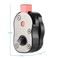 Aluminum Steel Mini Quick Release Plate For Camera Camcorder Rig LCD