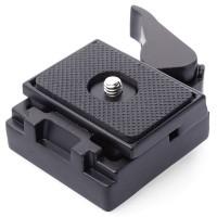 DSLR Quick Release Camera Tripod Clamp Plate Adapter monopod