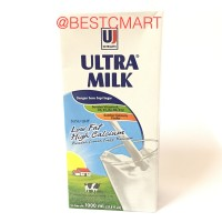 ULTRA MILK LOW FAT 1L (SUSU UHT)