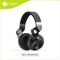 Headphone Headset Bluetooth Bluedio T2+ Plus Turbine Hurricane - Black