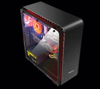 SEGOTEP T3 Full Tempered Glass Aluminum RGB Mid Tower Gaming Case