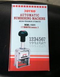 Nomorator Joyko 7 digit (automatic numerator machine)