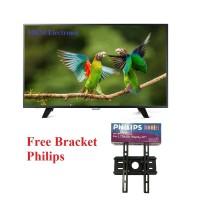 PHILIPS 32PHA3052S 32Inch Slim LED TV USB Movie - FREE Bracket
