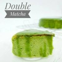 Japanese Cheese Cake Double Matcha