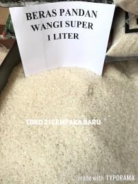 Beras Pandan Wangi Super 1 Liter | Asli Putih Enak Murah 1Liter 1L 1 L