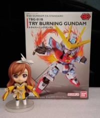Sd Ex Standard Try Burning Gundam