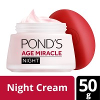 Ponds Age Miracle Night Cream Jar 50g