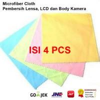 Kain Microfiber Pembersih Lensa Kamera - LCD - Body DSLR & Mirrorless