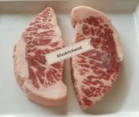 Daging Sapi AUS Premium Grainfed Beef Chuck Crest Steak MB 4++ 200gr