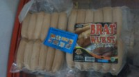 mini bratwurst original sosis sapi 500gr king food. sumber frozen