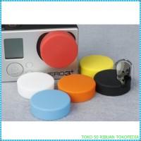 penutup lensa TMC Silicone Lens Cap For Xiaomi Yi - Yellow i1530