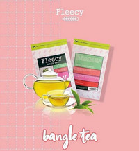FLEECY Bangle Tea - Slimming Tea - Teh Pelangsing