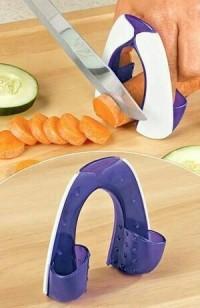 alat pelindung jari saat memotong/safe slice as seen on tv/alat dapur