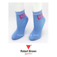 Kaos Kaki Pendek Wanita Ladies atas mata kaki Robert Brown (7305B)
