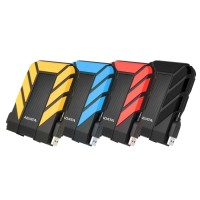 ADATA HD710 PRO 1TB (Antishock & Waterproof) USB 3.2 - Black / Blue / Red / Yellow
