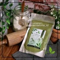 Pure Matcha Greentea Bubuk Powder Green Tea Murni 50gr Reguler