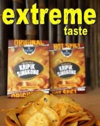 Distributor Keripik Singkong Blueduck / Blue-duck Salted Egg Yolk