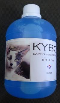 Shampoo  Kucing  Kybo  Flea  & Tick 1 Liter KCFT
