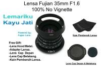 Fujian Lensa CCTV Lens 35 mm f1.6 Lensa Fix Sony Canon Nikon Fujifilm