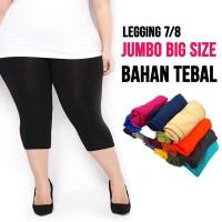 celana legging wanita 7/8 JUMBO / BIG SIZE