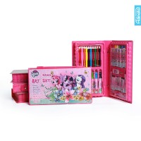 harga My little pony art set 42 pcs adinata/ alat mewarnai / crayon Tokopedia.com