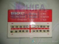 Bracket amplop orens/ Bracket fancy orens/ behel Gigi 0.22 No hook.