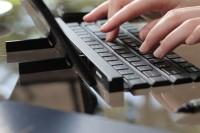 LG Rolly Keyboard Lipat Bluetooth / Wireless / Portable KBB-700 Black