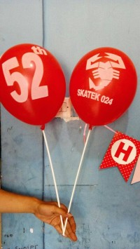 Balon Printing / Balon Stick / Balon Sablon