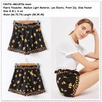 Celana Pendek Santai Hotpants Shorts Pants Baju Wanita Korea Import