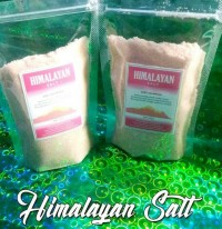 himalayan salt garam himalaya halus 500gram for keto