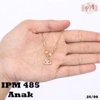 Kalung Xuping Anak Hello Kitty Permata Zircon Gold PM 485