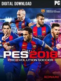 Pro Evolution Soccer (PES) 2018 CD-KEY ORIGINAL - Standard Edition PC