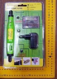 Mini Die Grinder Set 10 Nankai Tuner Set Gerinda Bor skl Sellery Fisch