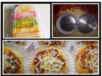 cetakan bolu lipat/ loyang pizza mini 12cm