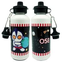 "Botol Minum Alumunium ""Ultraman"" Bisa Custom by CharnColl"