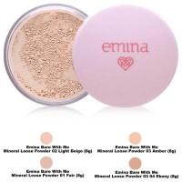 Bedak tabur kosmetik bare with me mineral loose powder emina cosmetics