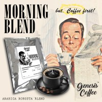 MORNING BLEND COFFEE // ARABICA ROBUSTA BLEND