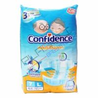 CONFIDENCE ADULT DIAPER L7 / POPOK DEWASA UK L ISI 7