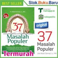 Buku 37 Masalah Populer karya Ust Abdul Somad BEST SELLER8