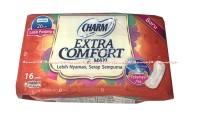 Charm Extra Comfort Maxi Non Wings Pembalut Wanita 26 Cm Isi 16 Pads
