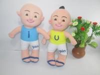 Boneka Upin Ipin Lucu Ukuran 30CM - Boneka Upin Ipin Murah