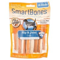 Smartbones Dental Chew With Hip Support (Snack Anjing)