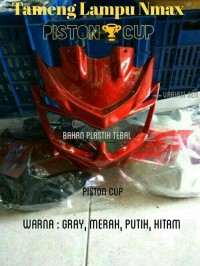 Tameng Lampu Nmax / Lis Headlamp Nmax / Cover Lampu Depan Nmax