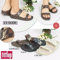 Sandal Jepit Wanita Fitflop LV Slide (HARGA PROMO)