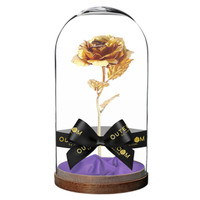 harga 24k gold plated enchanted rose Tokopedia.com