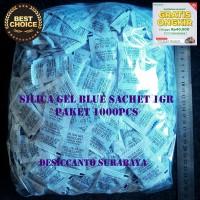 Silica Gel Biru |1000 sachet | HARGA GROSIR TERMURAH