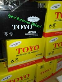 aki motor TOYO GTZ -5S