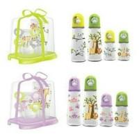 Bottle Baby Gift Set BabySafe/ gift set rak dan botol susu 4pc