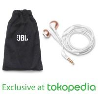 JBL T205 Earphone - RoseGold - Exclusive Tokopedia