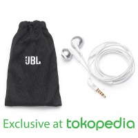 JBL T205 Earphone - Chrome - Exclusive Tokopedia
